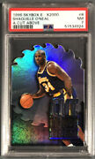 1996 Skybox E-x2000 Shaquille Oandrsquoneal A Cut Above 8 Psa 7andnbsp Under Graded Low Pop