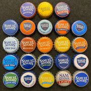 23 Different Sam Adams Beer Bottle Caps/crowns - Used