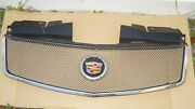 03-07 Cadillac Cts Grill Grille Eandg Classic Chrome Fine Mesh Upper Front Hood