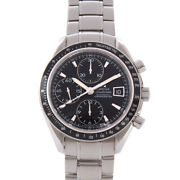 Omega 3210.50.00 Speedmaster Date Chronograph Automatic Menand039s Ss Black [e0223]
