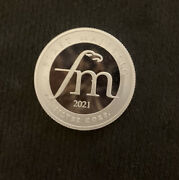 1 2021 First Majestic Half 1/2 Troy Ounce .999 Fine Silver Round 1st Ag