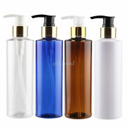 200ml 250ml Pet Lotion Pump Bottles Cosmetic Creme Gel Container