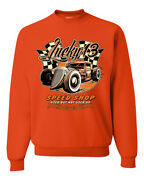 Lucky 13 Speed Shop Used But Not Used Up Cars And Trucks Unisex Sweatshirt