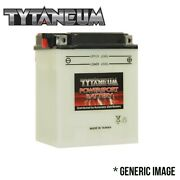 Conventional Flooded Battery For Arctic Cat Cougar 1991-1994 With Acid Pack