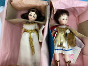 Madame Alexander Cleopatra And Marc Anthony Doll Set Portraits Of History In Box