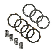 7pcs Clutch Plate And 4x Springs Kit For Honda Crf100f Crf80f 2004-2009 2011-2013