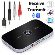 Bluetooth Transmitter And Receiver Wireless Adapter For Home Stereos/speakers Usa