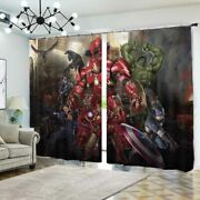 Mechwarrior Project 3d Blockout Photo Print Curtain Fabric Curtains Window