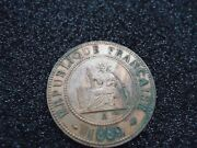 France Indo/china 1889 Coin. Sitting Liberty