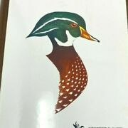 Ducks Unlimited Painted Enamel Wall Plaque Northwestern Pa 1982 By George