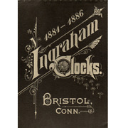 1881 To 1886 Illustrated Catalogue From The E. Ingraham Clock Co