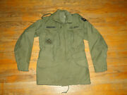 Vintage 1969 Field Jacket M 65 Cold Weather Og -107us Military Army Sz X-small
