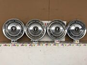 68 Olds Cutlass F85 14 Hubcap Wheel Cover Set Of 4 1968 Oldsmobile F85
