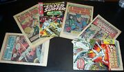 Lot/7 Readers The Silver Surfer Covers Removed 2 5 9 10 11 13 18 1968