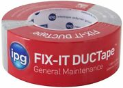 Ipg Fix-it Ductape General Maintenance Duct Tapesilver 2x10 - 2x30 - 2x55 -