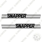 Snapper 1650 Decal Kit Tractor Mower Decals - 7 Year 3m Vinyl
