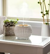 Ultrasonic Aroma Diffuser With Sound And Changing Colors Homedics Ellia Gather