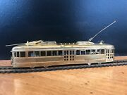 Suydam Ho Gauge Brass Model Pacific Electric Railway Double-ended Pcc, Powered
