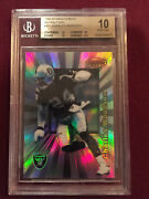 Charles Woodson 1998 Bowmanand039s Best Refractor Rookie Card 201/400 Bgs 10 Pristine