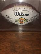1994 Nfl Pro Bowl Autographed Football Jerry Rice Brett Farve And More