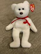 1993/1994 Valentino Ty Beanie Baby P.v.c Pellets Brown Nose Lots Of Errors Mint