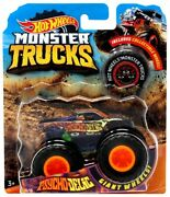2018 Hot Wheels Pyshco-delic Monster Truck With Collectible Wheel