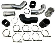 Intercooler Charge Pipe Boot Coupler Kit For 11-16 Ford 6.7l Powerstroke Diesel