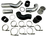 Hot + Cold Side Intercooler Pipe Boot Kit For 2011-2016 F250 F350 F450 F550 6.7l