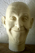 Stan Laurel Latex Head From Movieland Wax Museum Mold Sculpted By Pat Newman