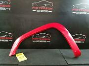 2004 Gmc Canyon Driver Left Front Fender Flare Trim Moulding Victory Red 74u