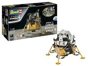 Revell Germany 1/48 Apollo 11 Lunar Module Eagle W/paint And Glue Rmg3701