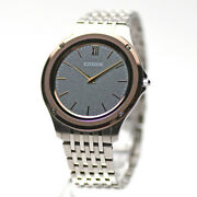 Citizen Eco-drive One Ar5004-59h Solar Menand039s Watch From Japan Pre Owned [u0227]