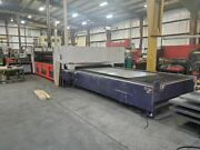 6000 Watt Bystronic Bylaser 6000 Co2 Laser 2011 - 6and039 X 13and039 Dual Shuttle Tables