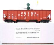 Jam Creations Stealth Track Cleaner Up Union Pacific Hopper Coal Load 13061 New