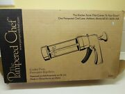 Pampered Chef No. 1525 Cookie Press Kit - New Never Used In Open Box