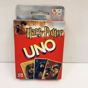 Harry Potter Uno Card Game New Sealed Mattel 2003