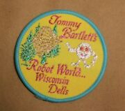 Tommy Bartlett's Exploratory Robot World Wisconsin Dells Embroidered Patch Badge