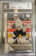 2005-06 Upper Deck Young Guns Sidney Crosby Rookie Rc Bgs 9 9.5 9 9 9.5