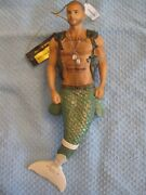 December Diamonds Merman Hero Limited Edition Soldier Wounded Warrior Bear New
