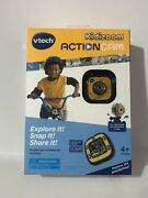 Nwt Vtech Kidizoom Action Cam Yellow Model 80-170700 A10