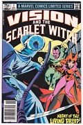 Vision And Scarlet Witch Limited Series 1 Vf/nm Wandavision Rare 75andcent Price