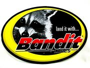 Bandit Lures Decal Sticker Land It With Bandit Lures 6wide X 4tall