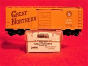 Mtl 20000/23000 Great Northern And039circus Carand039 10 Car 40and039 Box Car Set And039newand039 N-scale