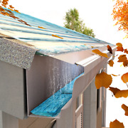 """Gutter Guard Protection Leaf Cover 6"""" Version – 24' Stainless Steel Micro-mesh"""