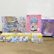Ichiban Kuji Re Zero Starting Life In Another World Set Of 16 Anime Bandai