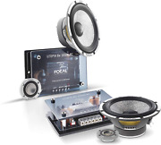 """Focal Kit165w-rc 6.5"""" 2-way Component System W/crossover, Rms 80w - Max 16"""
