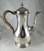 George Iii Silver Coffee Pot James Stamp London 1779 463g Czx