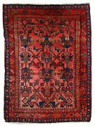 Handmade Antique Oriental Rug 3.7and039 X 5and039 113cm X 153cm 1920s - 1c403