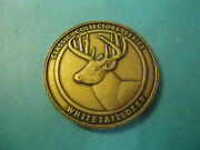 Buckmasters Whitetail Deer Collectorand039s Medallion