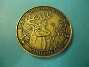 N. A. H. C. Whitetail Deer Collectorand039s Medallion